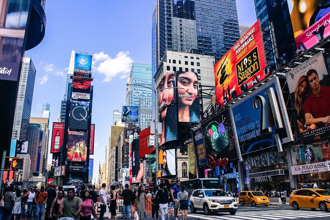Der Time Square von New York